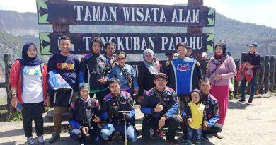 Touring Perdana GCI Squad Depok Perkuat Solidaritas Anggotanya