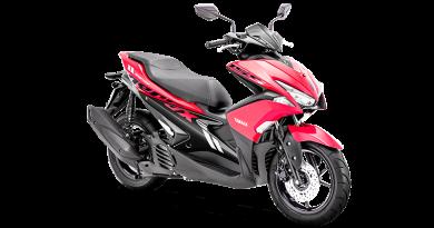 Yamaha Aerox 155 Semakin Berkarakter Sporty Dengan Warna Barunya