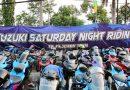 Ratusan Bikers Suzuki Tunjukan Kekompakanya Dalam Ajang Saturday Night Riding