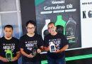 Kerjasama Dengan Shell Indonesia, Kawasaki Luncurkan 3 Varian Oli Baru