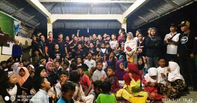 GCN Tangkot Berbagi Berkah Ramadhan di Panti Asuhan Amanah Assodiqiyah