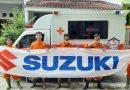 Suzuki Club Reaksi Cepat Lakukan Penyemprotan Disinfektan di Wilayah Jabodetabek