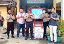 Cegah Penyebaran Covid-19, PHMJ dan Astra Motor Papua Berbagi Wastafel Portabel