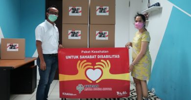 Yayasan AHM Salurkan 200 Paket BantuanBagi PenyandangDisabilitas
