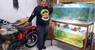 Heboh! Herry Graha AUto Classic Koleksi Ikan Predator Langka Bertuliskan 'MACI'