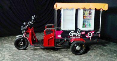 GELIS, Kendaraan Tiga Roda Bertenaga Listrik Pertama di Indonesia Siap Dipasarkan