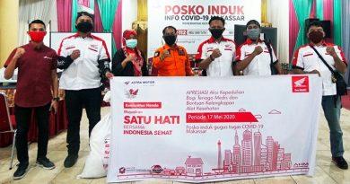 IMHM Serahkan Donasi APD untuk Tenaga Medis Satgas Covid-19 Makassar