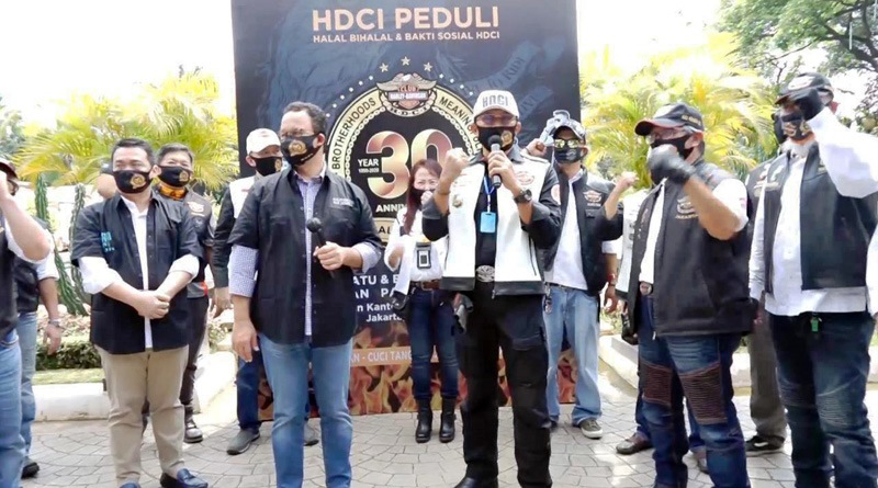 HDCI Rayakan Ulang Tahun ke-30 Dengan Halal Bihalal dan Baksos Peduli Pandemi Covid-19