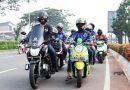 Komunitas Bikers di Tangerang Gelar Sunmori Eratkan Jalinan Silaturahmi