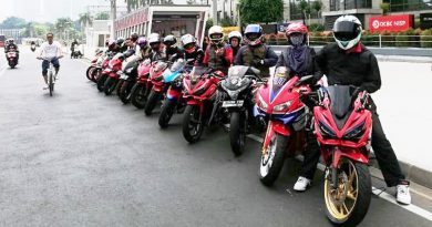 Sunmori Perdana CBR Riders Jakarta Obati Kerinduan Riding Bersama-Sama
