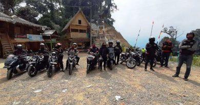 BMC Jakbar Gelar Adventure Touring Eksplor Indahnya Alam Citorek