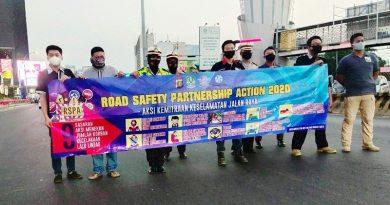 CCI Bekasi Turun ke Jalan Dukung Road Safety Partnership Action 2020