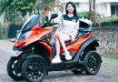 Qooder, Scooter Matic Premium Roda Empat Tawarkan Konsep Smart Mobility
