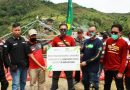 Bikers Sahabat Komunitas Pegadaian Bantu Salurkan DKS ke Desa Terpencil
