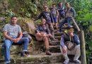 Mengenang Masa Kecil, Member Bromphit 12,5 Mandi di Curug Balong Endah, Bogor