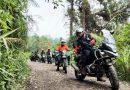 Touring Wisata BARKO Motorclub Nikmati Sejuknya Alam Pegunungan Halimun