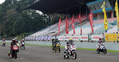 Bikers Honda Pehobi Balap Ramaikan Ajang Balap IMI DKI Jakarta