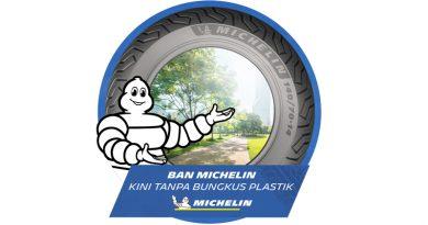 Ban Motor Michelin Tanpa Bungkus Plastik Mulai Maret 2021