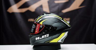 Tampilan Seri Baru Helm NJS ZX-1 Terkesan Mewah Juga Sporty
