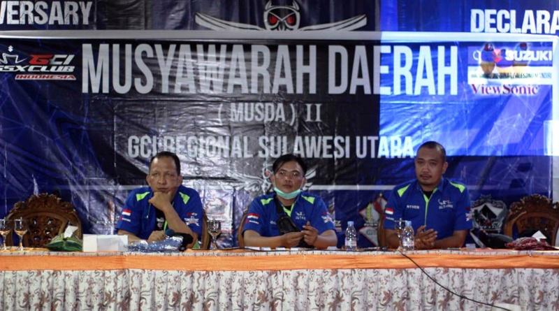 Musda II GCI Regional Sulut Pilih Ketua Umum dan Pengurus Periode 2021-2023