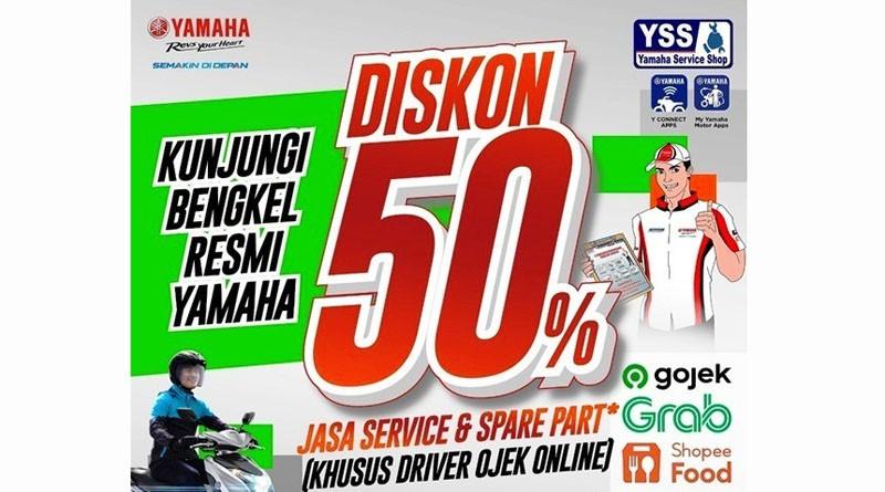Yamaha Berikan Diskon